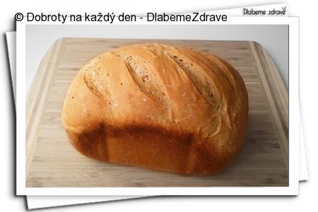 Lehký žitný chlebík s kmínem