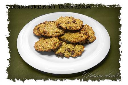 Jablečné müsli sušenky