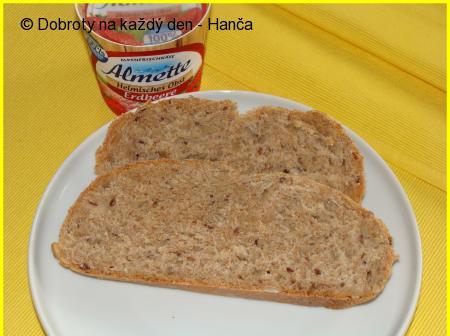 Špaldovo-podmáslový chleba