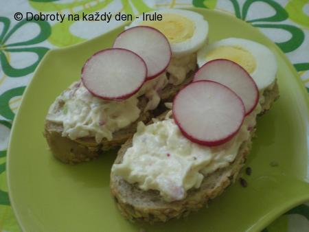 Ředkvičková pomazánka s vajíčky