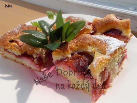 Švestková  a rychlá koláčová dobrota