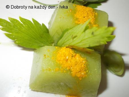 Brokolice v kostce