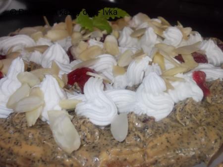 Makový dort  -  Mak - Mak - Makulenka / bez mouky/