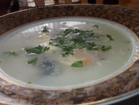 Rybí polévka zase jinak, rychle a nenáročně