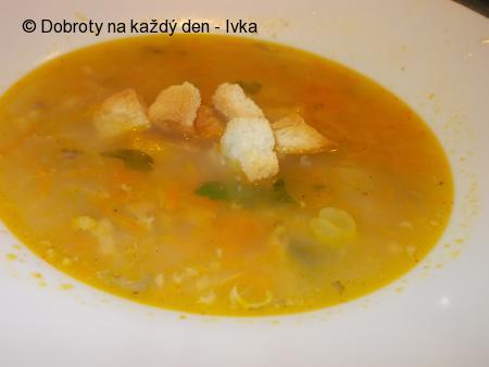 Rybí, jemná polévka z tilapie