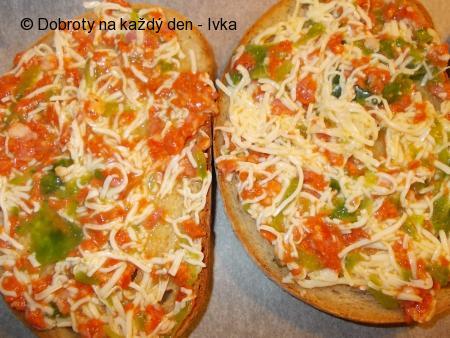 Rychlá klobásovo- zeleninová večeře  (svačina)