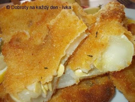 Patizon v trojobalu se sýry, jogurty a strouhankou