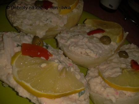 Opravdu výtečná pomazánka (ala salát)z krabích tyčinek Surimi, slaniny, sýra a smetany