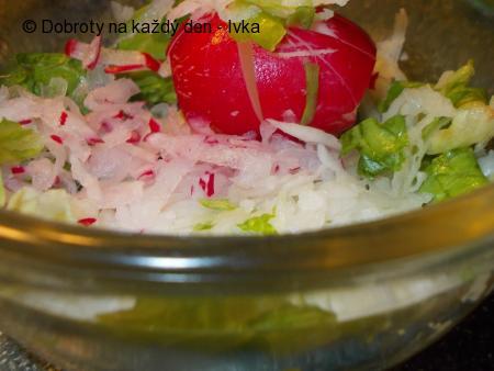 Zdravý a  čistící osvědčený  salát z černé ředkve