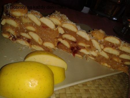 Sladké jablkovo-ananasovo-brusinkové mlsání podle Ivany