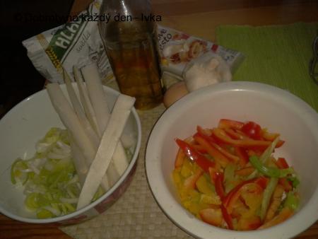 Barevná zeleninová kapsa