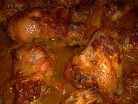 Ostřejší kuřecí pečínka se zázvorovo-Tandoori marinádou