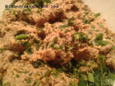 Mleté čočkovo- zeleninové, sójové řízečky