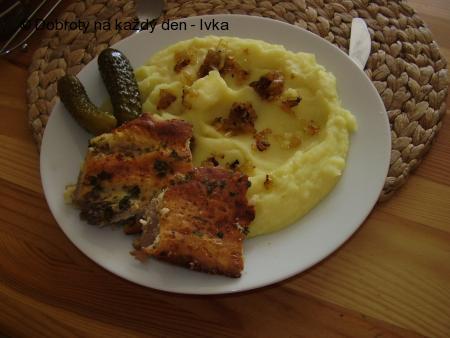 Výborné kuřecí řízky v uzeném sýrovém těstíčku