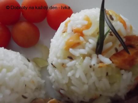 Zeleninová rýže k masu