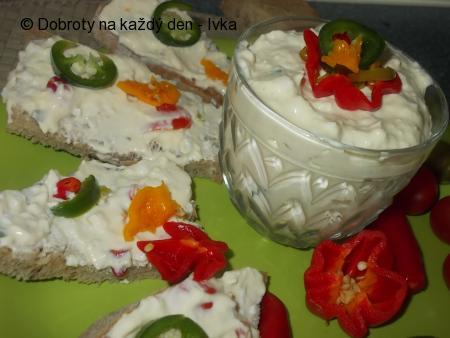 Vaječná pomazánka s chilli papričkami,aneb pálí,pálí,pálí