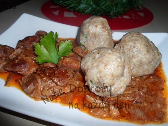Cikánské kančí maso
