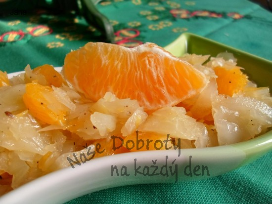 Pomerančovo-zelný salát