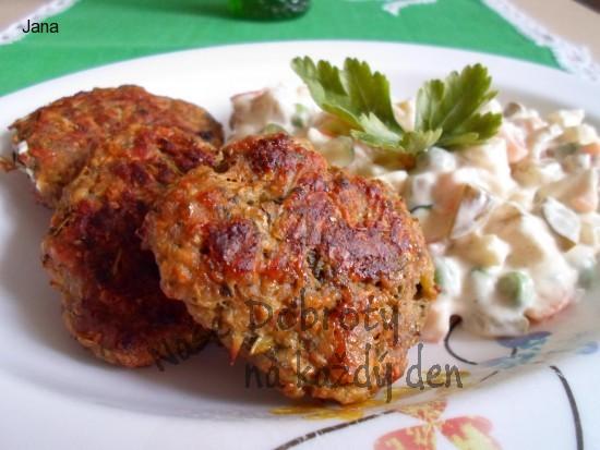 Kapustovo-sýrové karbanátky