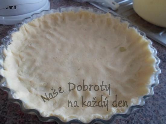 Tvarohový koláč pro diabetiky