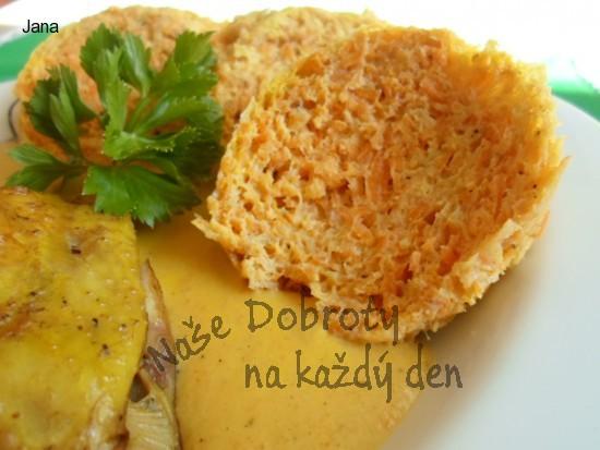 Kuřecí s dijonskou hořčicí a zeleninovým knedlíkem