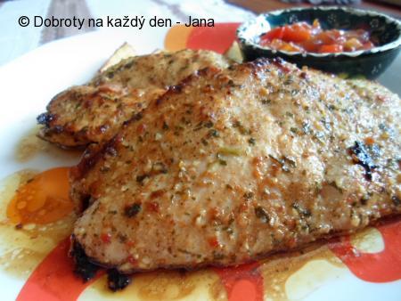 Marinovaný kuřecí steak
