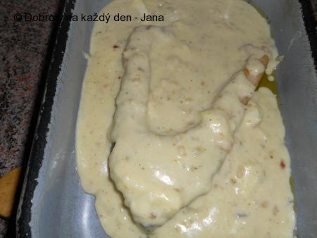 Kapr v sýrové krustě