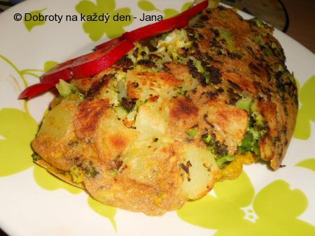 Brokolicová omeleta