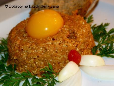 Zeleninový tatarák