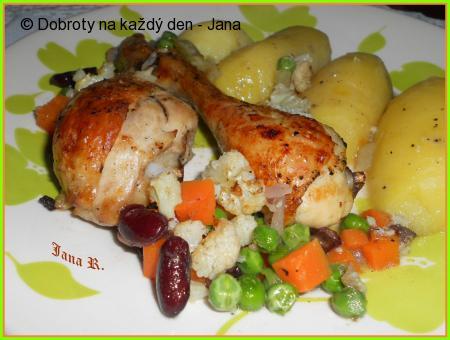 Kuřecí se zeleninou