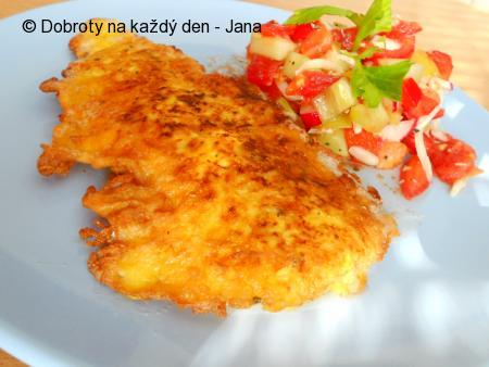 Rybí filé v celerovo-sýrové krustě