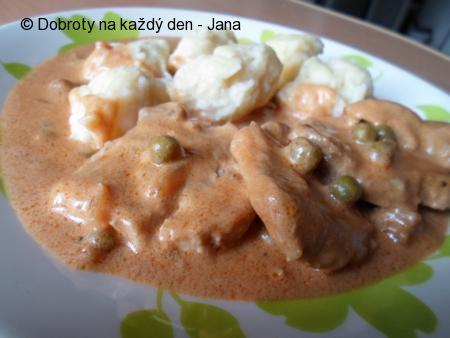 Bratislavská panenská vepřová pečeně s máslovými noky
