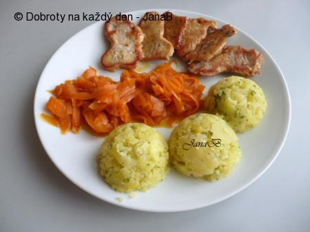 Krůtí plátečky s mrkví