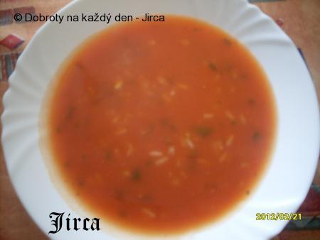 Rychlá rajská polévka s rýží