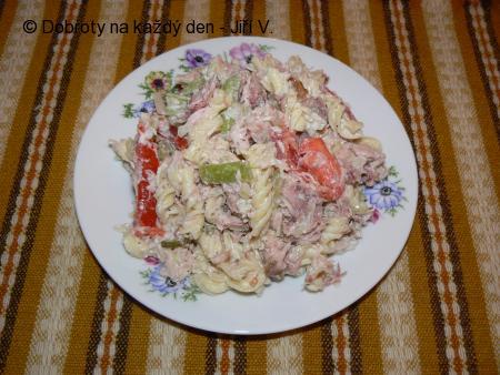 Jirkův salát s uzeným kaprem