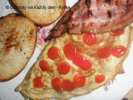 Víkendové anglické omelety