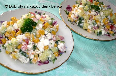 Zeleninový cottage salát
