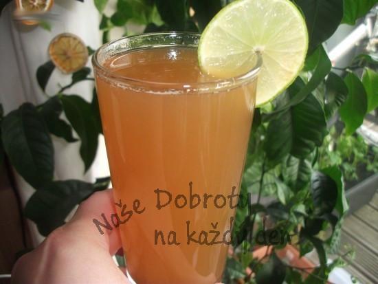 Zázvorový sirup (základ na limonádu)
