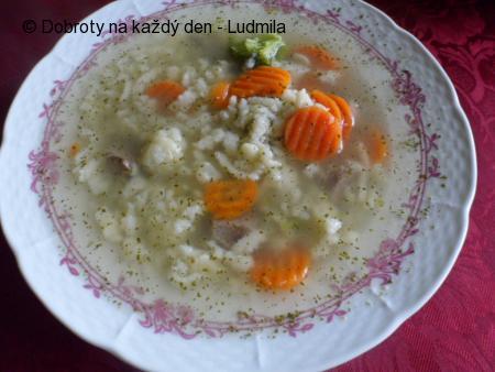 Polévka z drůbků