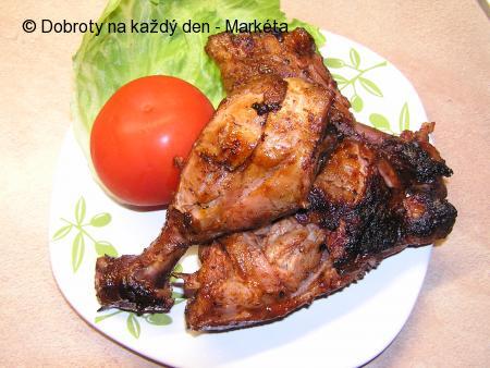 Grilovaná kuřecí stehýnka