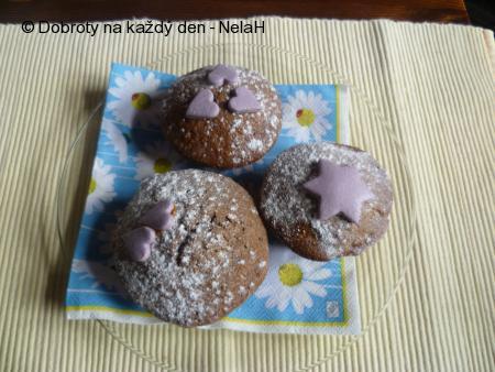 karamelové muffiny