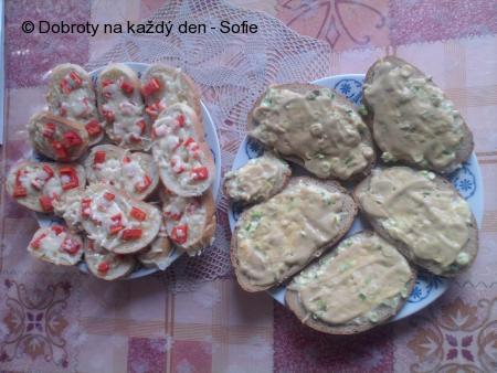 Smaženky ze starého chleba a rychlé chlebíčky