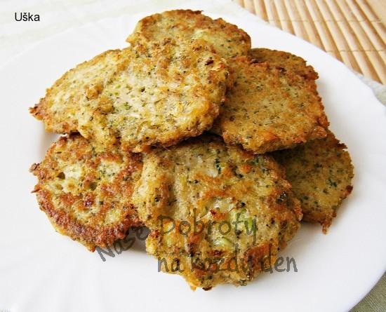 Brokolicovo-chlebové placičky,bez mouky a vajec