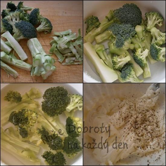Brokolicová pomazánka z košťálů