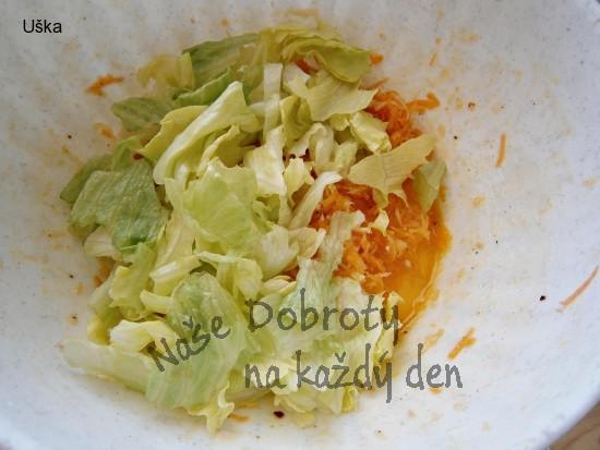 Osvěžující zeleninový salát s balsamikovým krémem