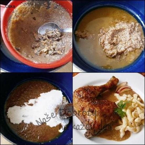 Kuře na jablku a voňavém koření