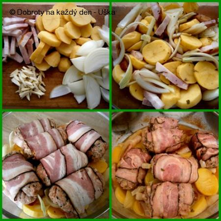 Anglické závitky ve valašských bramborách