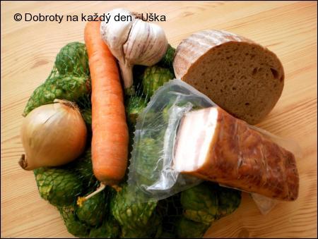 Růžičková kapusta v chlebové omáčce