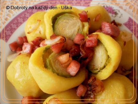 Kapustičky v bramborovém kabátku