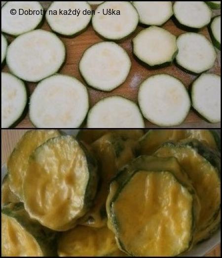 Cuketa naložená,v oleji osmažená